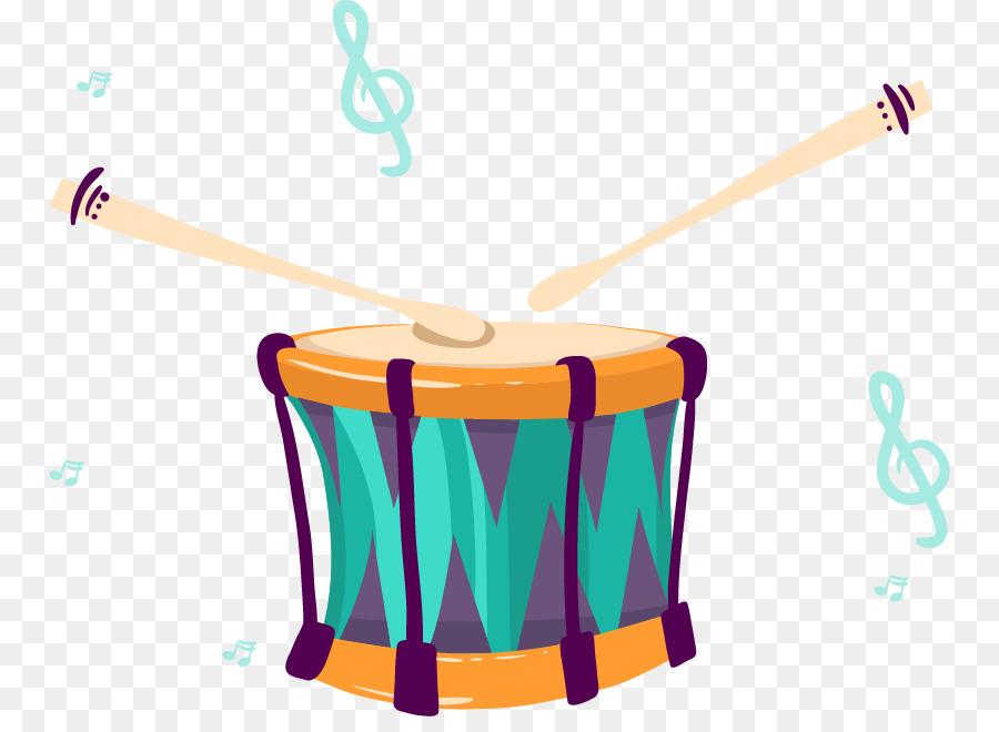 Instrumentos Musicales De Dibujos Animados Tambor Imagen Png