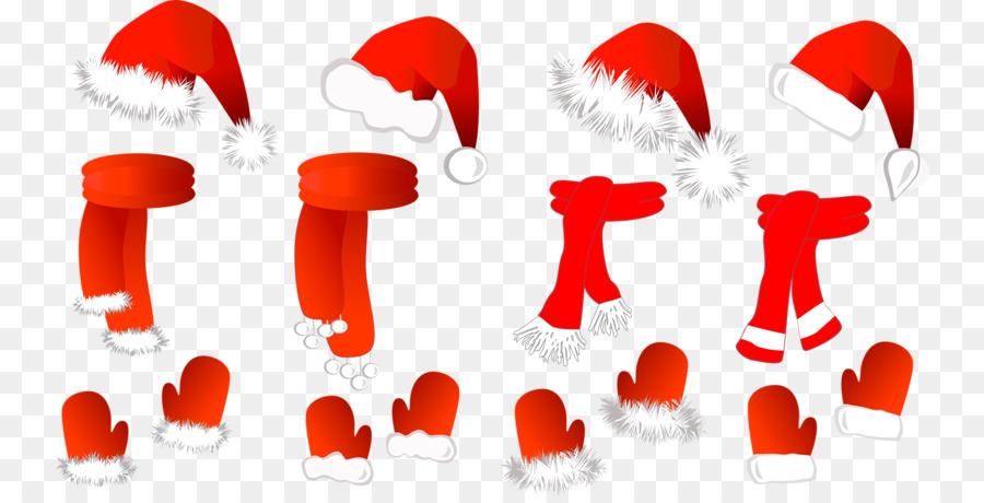 Descarga gratuita de Santa Claus, Sombrero, Bufanda Imágen de Png