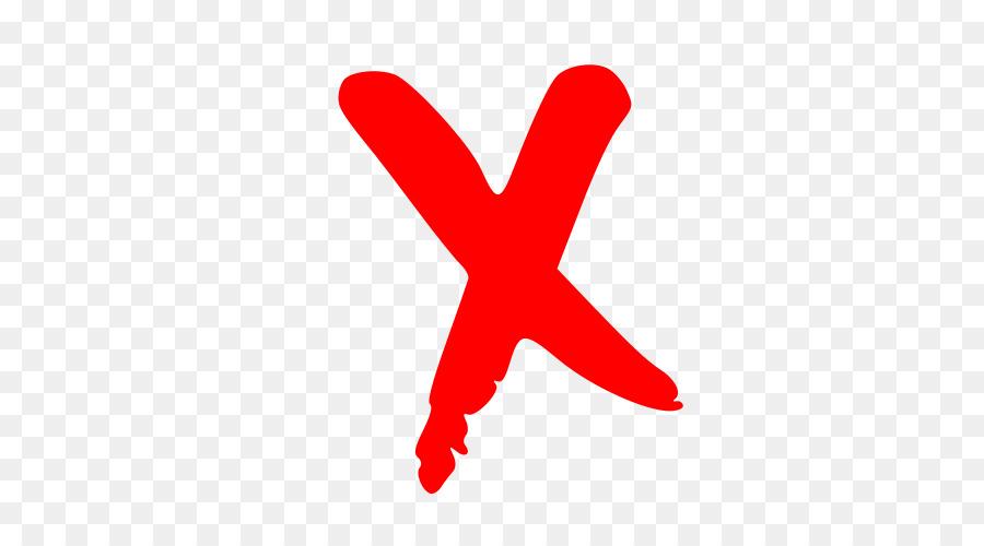 Descarga gratuita de La X Roja, X Marca, Iconos De Equipo Imágen de Png
