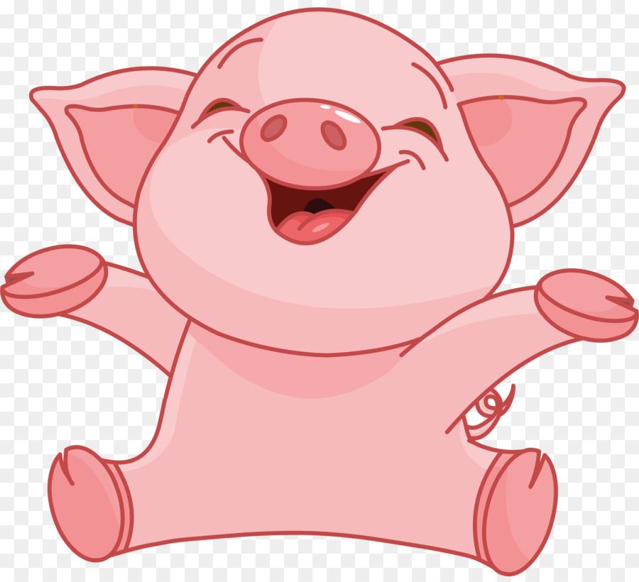 Descarga gratuita de Cerdo Doméstico, De Dibujos Animados, Royaltyfree Imágen de Png