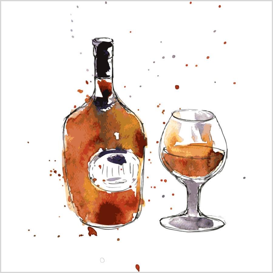 Descarga gratuita de El Coñac, Champagne, Vino imágenes PNG