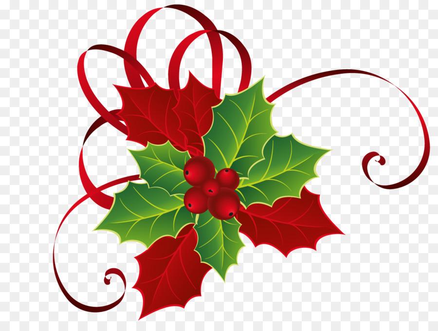 Descarga gratuita de Holly, El Muérdago, La Navidad imágenes PNG