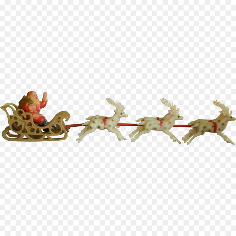 Descarga gratuita de Santa Claus, Trineo, Decoración De La Navidad Imágen de Png