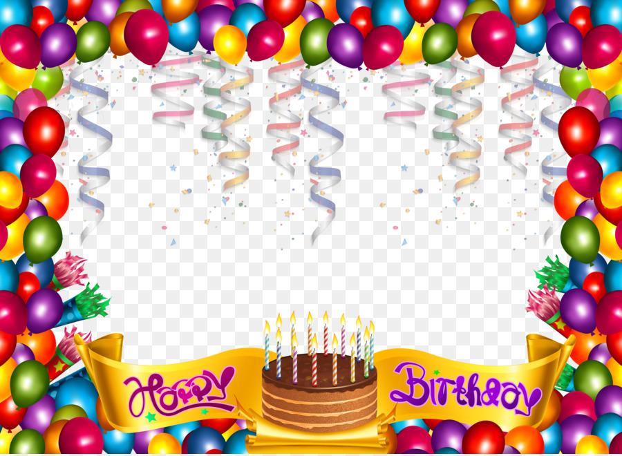 Cumpleaños, Pastel De Cumpleaños, Marcos De Imagen