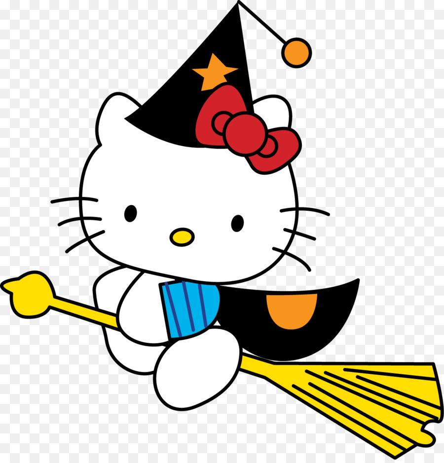 Descarga gratuita de Hello Kitty, Hello Kitty Hello Halloween, Libro Para Colorear Imágen de Png
