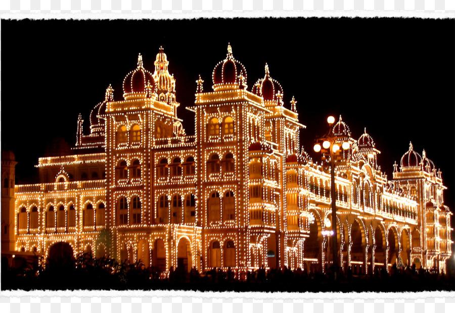 Descarga gratuita de Palacio De Mysore, Jardines De Brindavan, Chamundi Hills Imágen de Png