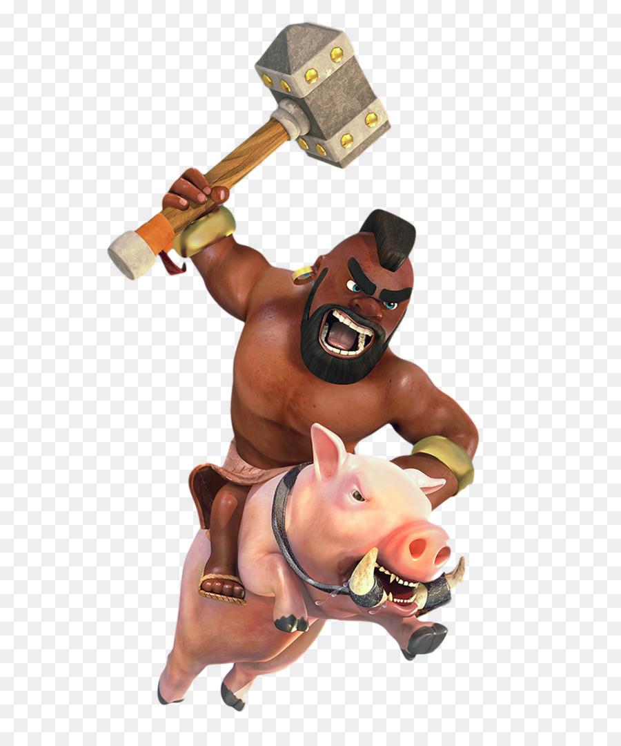 Descarga gratuita de Choque De Clanes, Choque Royale, Cerdo Imágen de Png