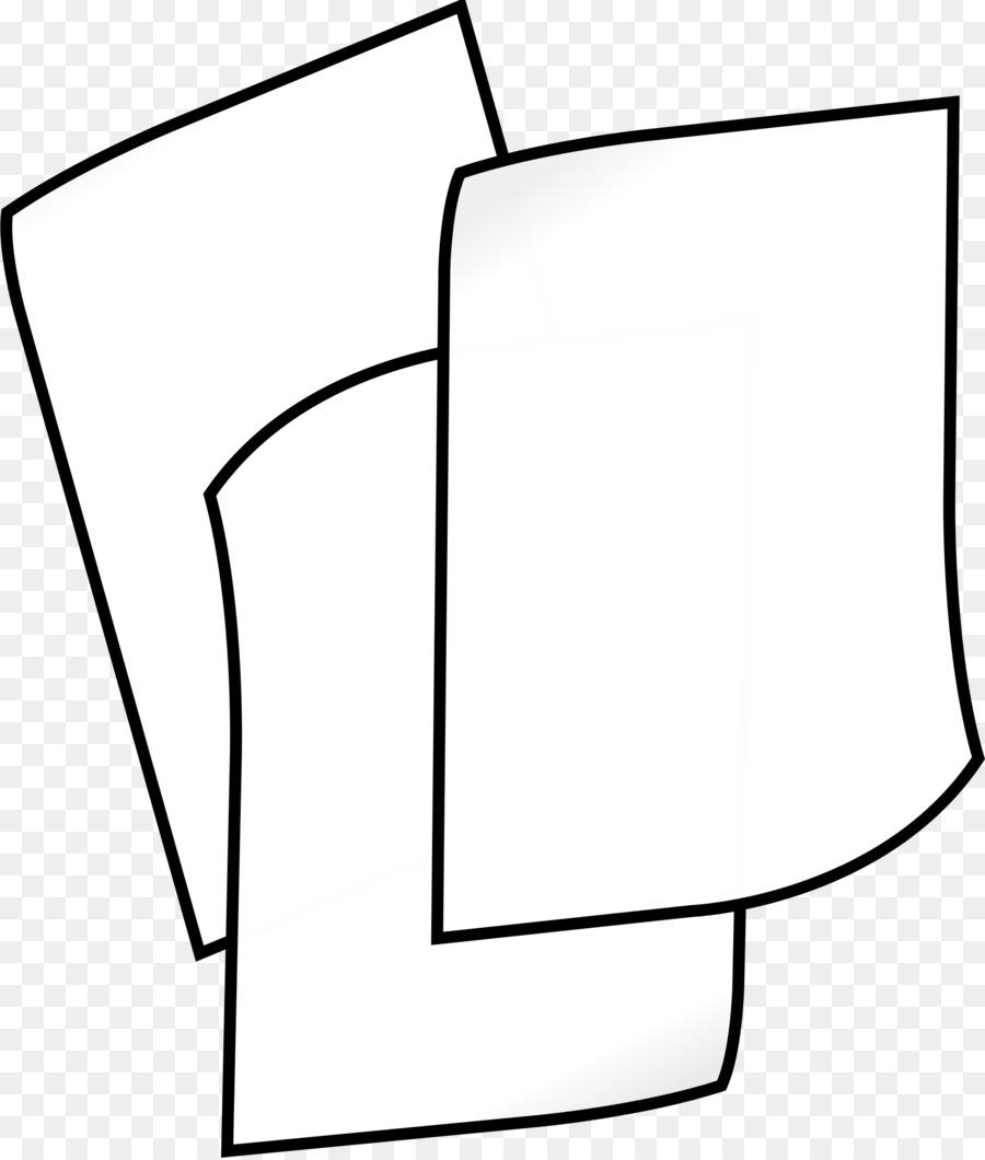 Descarga gratuita de Papel, Clip De Papel, En Blanco Y Negro Imágen de Png