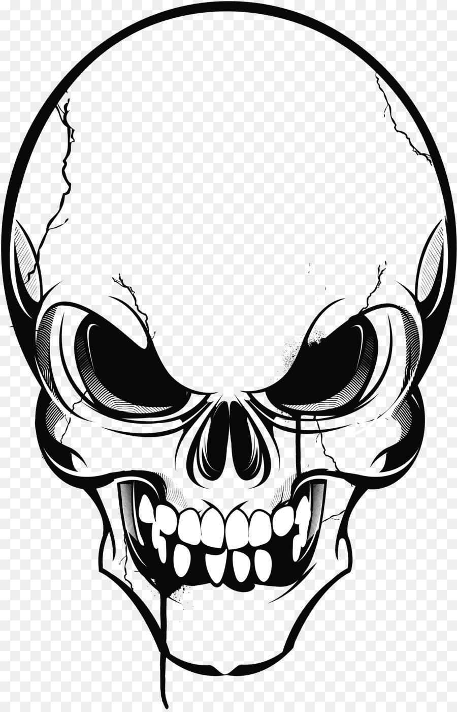 Descarga gratuita de Calavera, Cráneo, Dibujo Imágen de Png