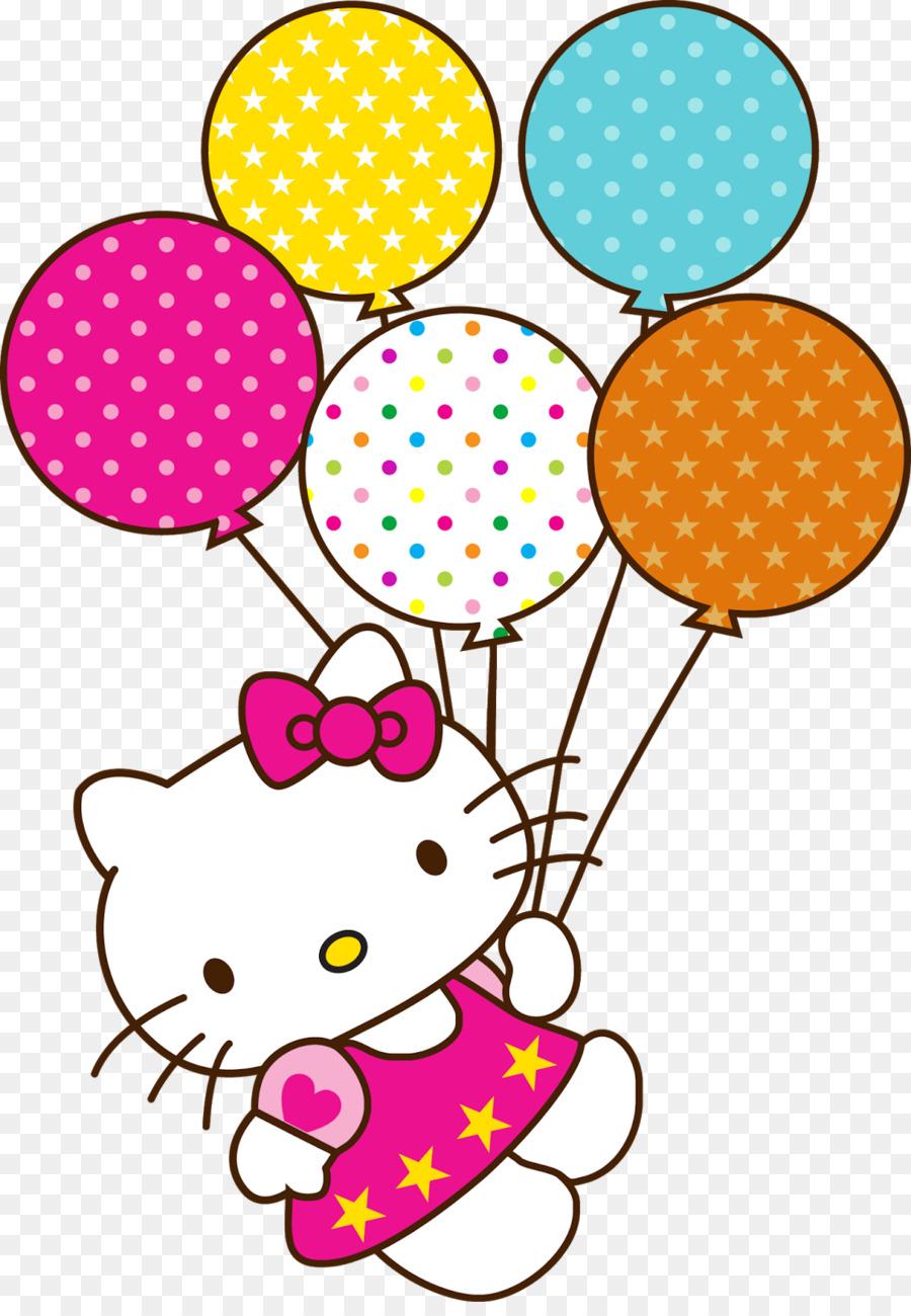 Descarga gratuita de Hello Kitty, Pastel De Cumpleaños, Cumpleaños Imágen de Png