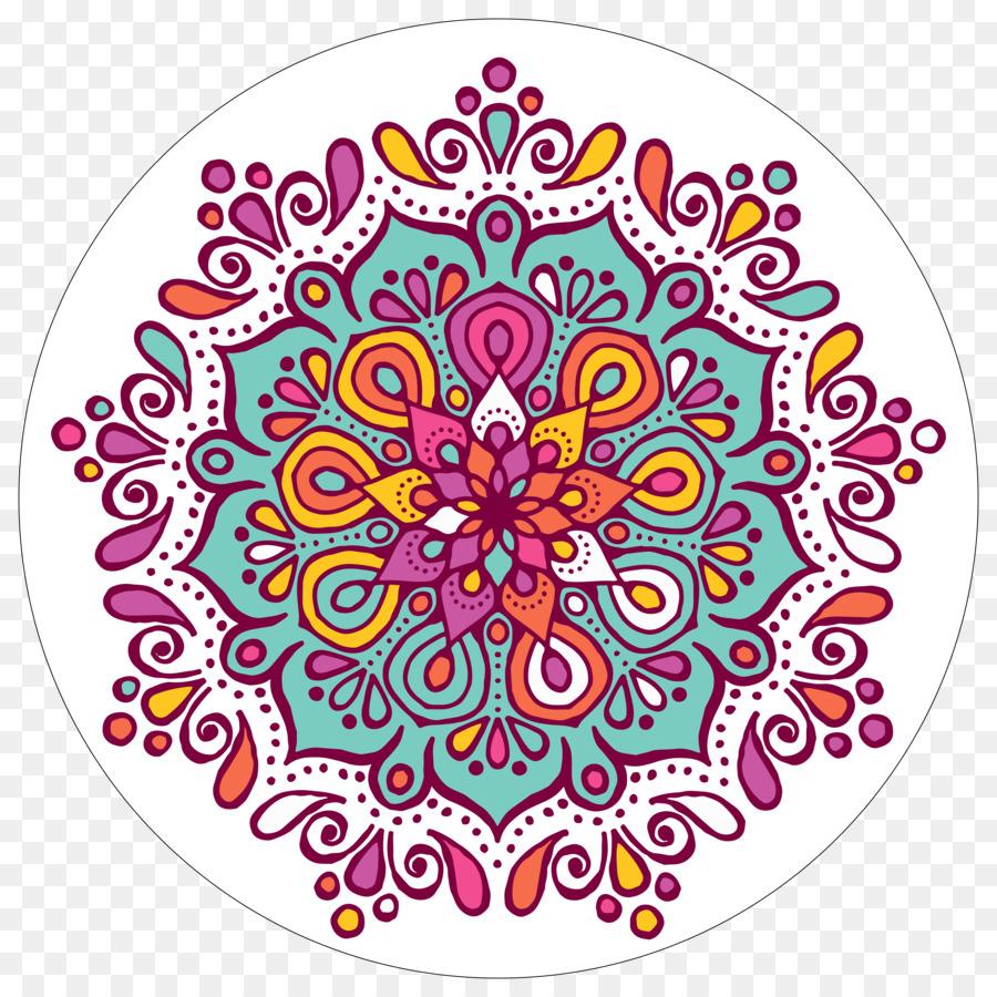 Descarga gratuita de Mandala, Color, Libro Para Colorear imágenes PNG