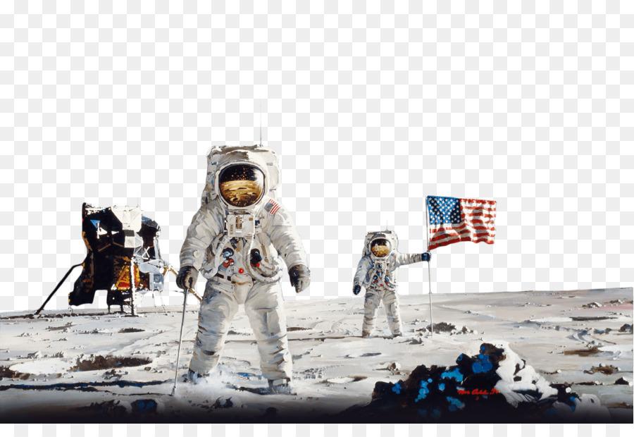 Descarga gratuita de El Centro Espacial Kennedy, Los Primeros Hombres En La Luna, El Espacio Mural Cósmico Ver imágenes PNG