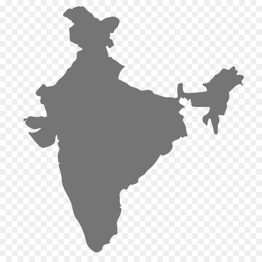 Descarga gratuita de La India, Mapa, Mapa Del Vector Imágen de Png