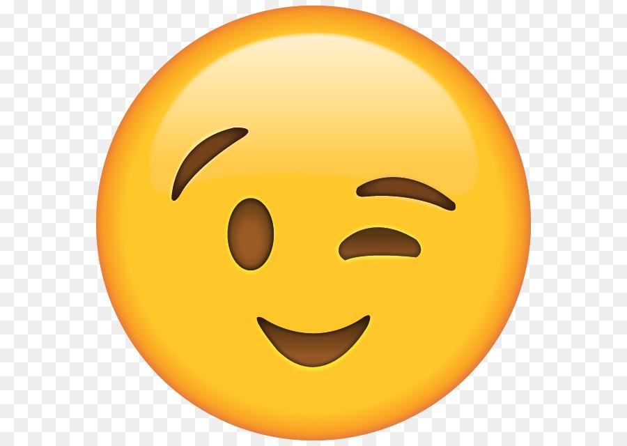 Descarga gratuita de Emoji, Guiño, El Coqueteo imágenes PNG