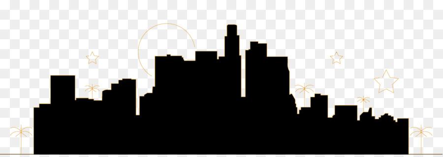 Hollywood Skyline Silueta Imagen Png Imagen Transparente