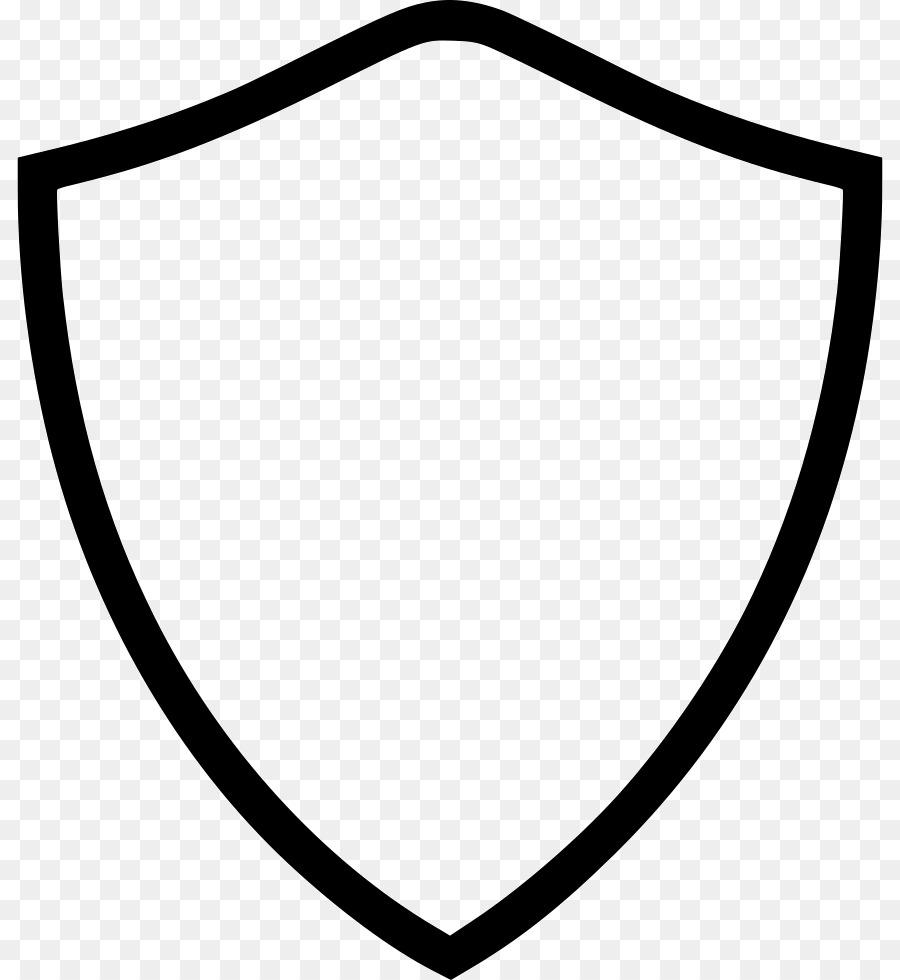 escudo blanco y negro