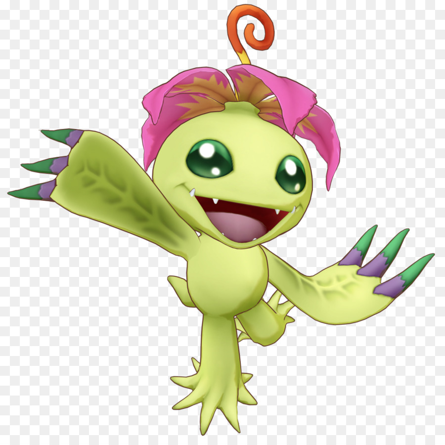 Descarga gratuita de Digimon Story Cyber Sleuth, Digimon World Data Squad, Palmon Imágen de Png
