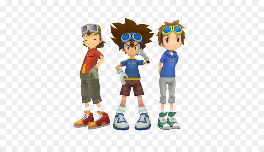 Descarga gratuita de Digimon Masters, Davis Motomiya, Gatomon Imágen de Png