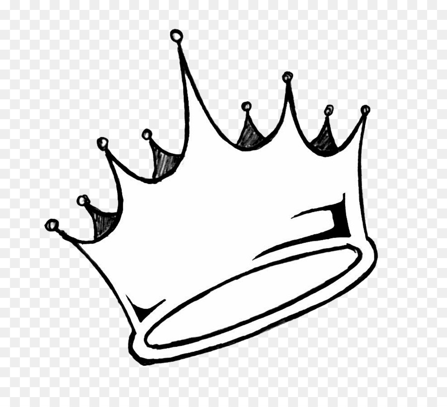 Dibujo De Corona De Rey Clip Art En Blanco Y Negro