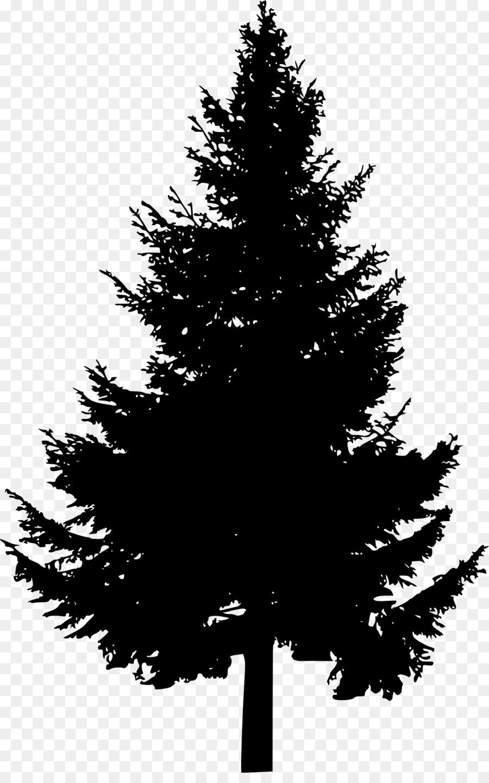 Descarga gratuita de Pino, árbol, Silueta Imágen de Png