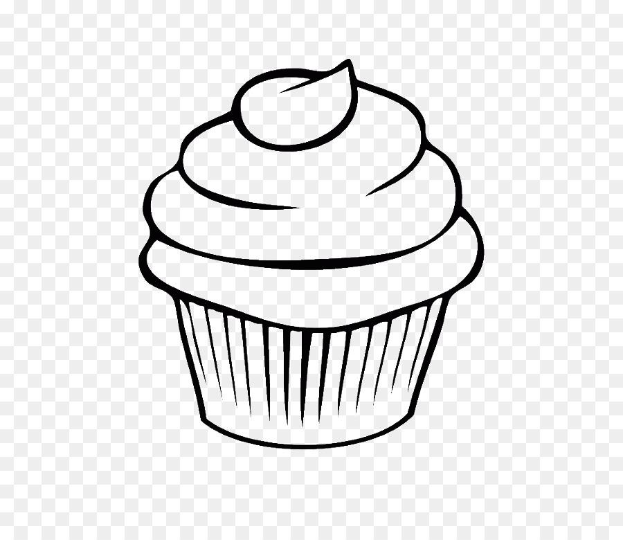 Descarga gratuita de Cupcake, Dibujo, Arte De Línea Imágen de Png