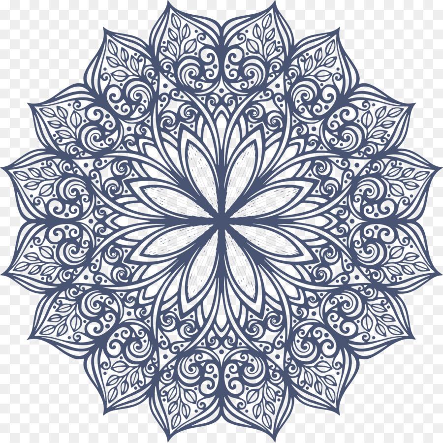 Descarga gratuita de La Simetría, Flor, Círculo Imágen de Png