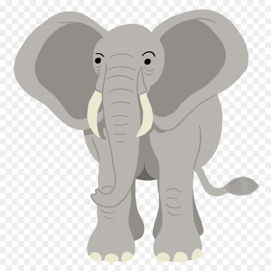 Descarga gratuita de El Elefante Africano, Elefante, Dibujo Imágen de Png