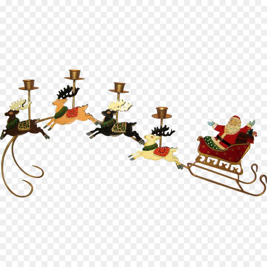 Descarga gratuita de Santa Claus, Reno, Trineo imágenes PNG
