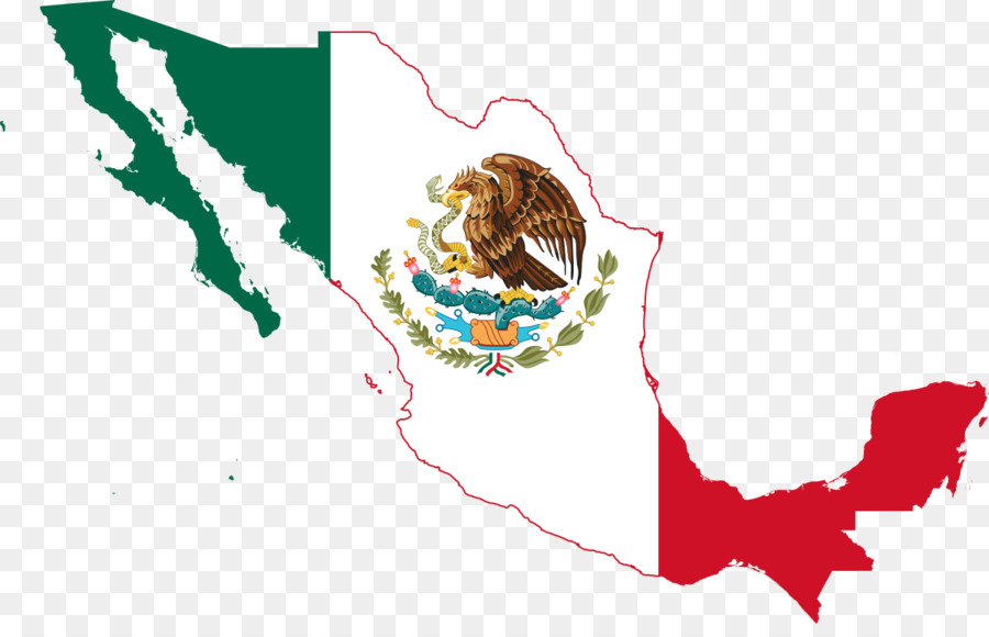 Descarga gratuita de México, La Bandera De México, Mapa Imágen de Png
