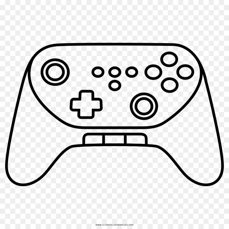 Wii Consolas De Video Juego Libro Para Colorear Imagen Png