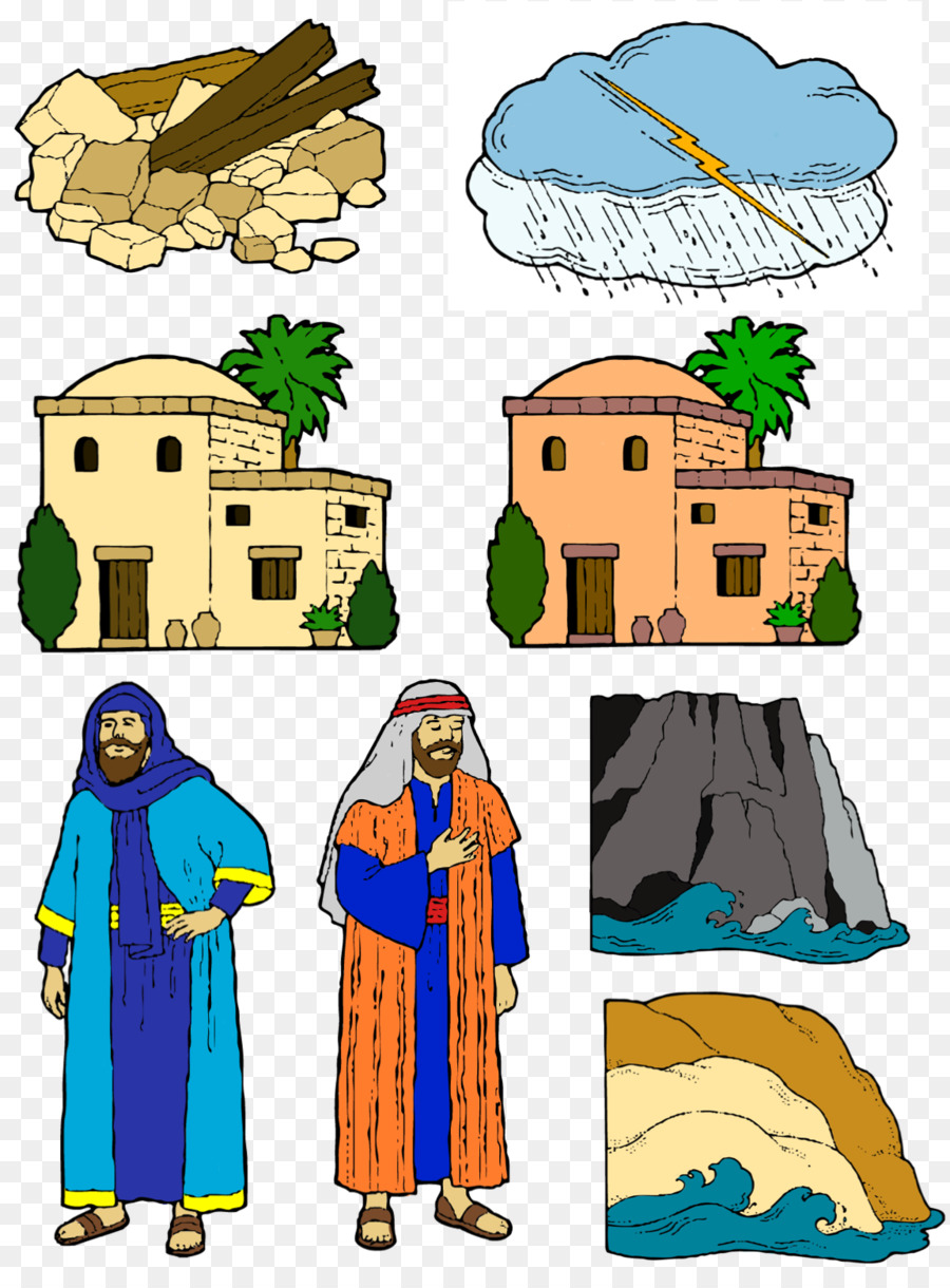 Casa Sobre La Roca La Biblia Nuevo Testamento Imagen Png Imagen