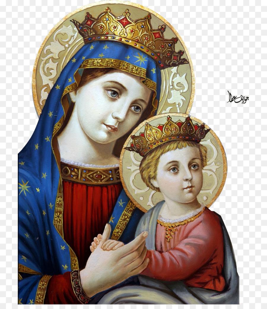 Descarga gratuita de María, Nuestra Señora Del Perpetuo Socorro, Madonna Imágen de Png