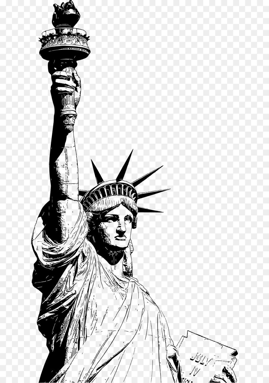 Descarga gratuita de Estatua De La Libertad, La Torre Eiffel, Estatua imágenes PNG