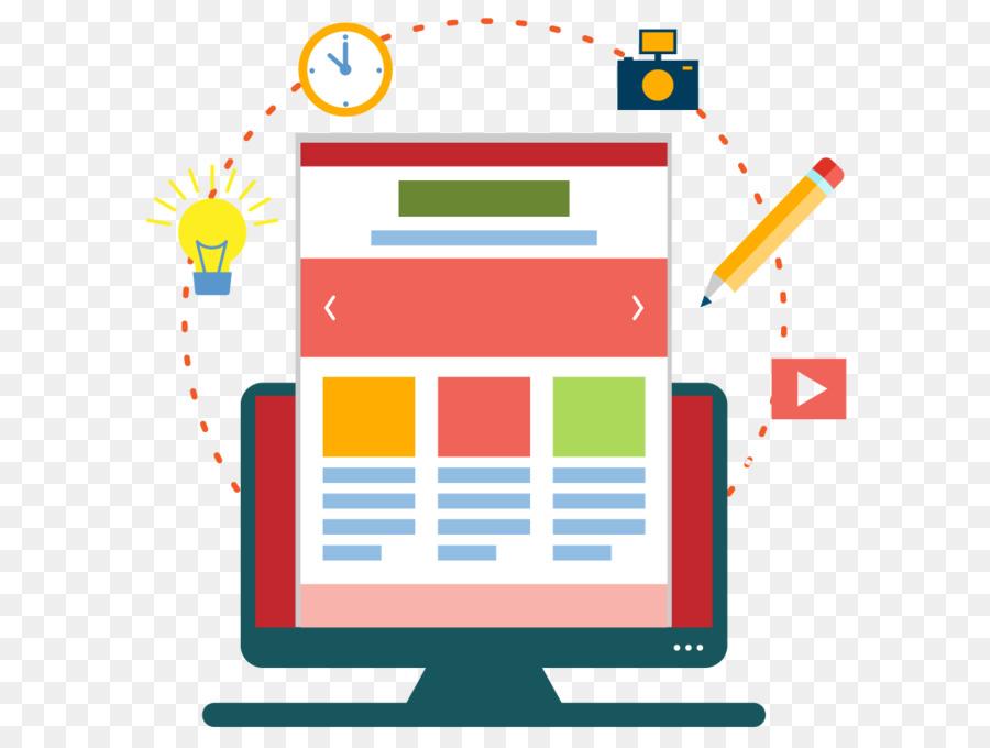Descarga gratuita de Desarrollo Web, El Diseño Web Responsivo, Diseño Web Imágen de Png