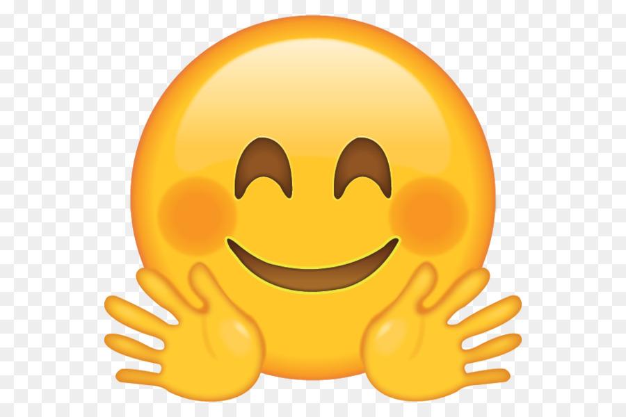 Descarga gratuita de Emoji, Abrazo, Smiley imágenes PNG