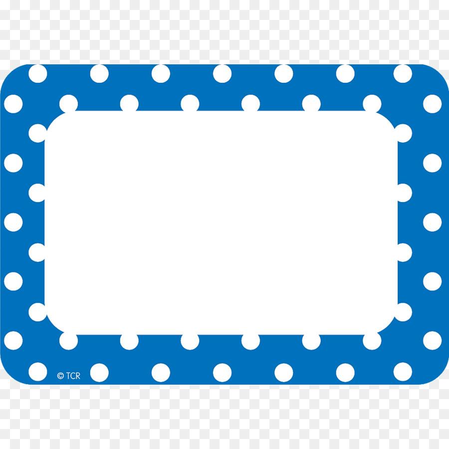 Descarga gratuita de Etiqueta De Nombre, Polka Dot, Maestro Imágen de Png