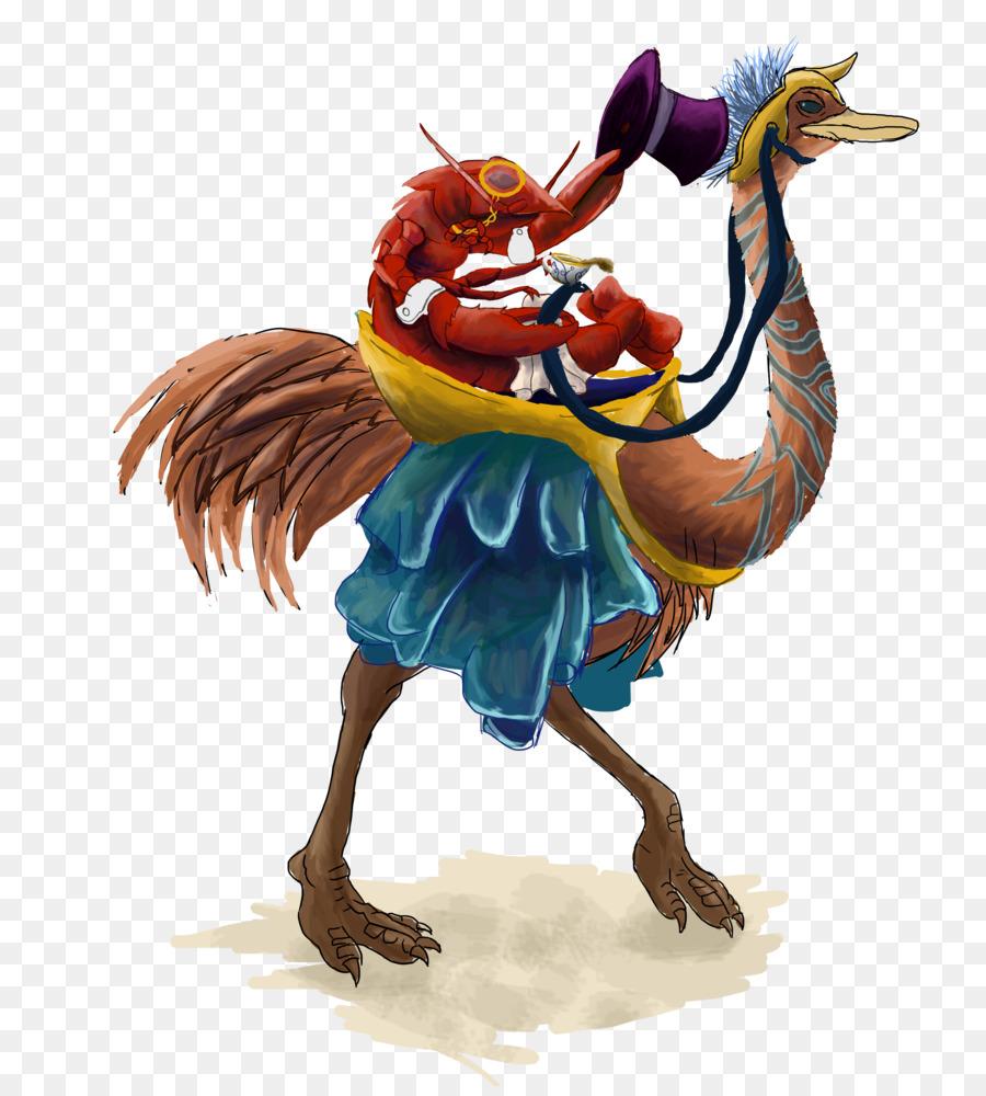 Descarga gratuita de Común De Avestruz, Pájaro, Arte imágenes PNG