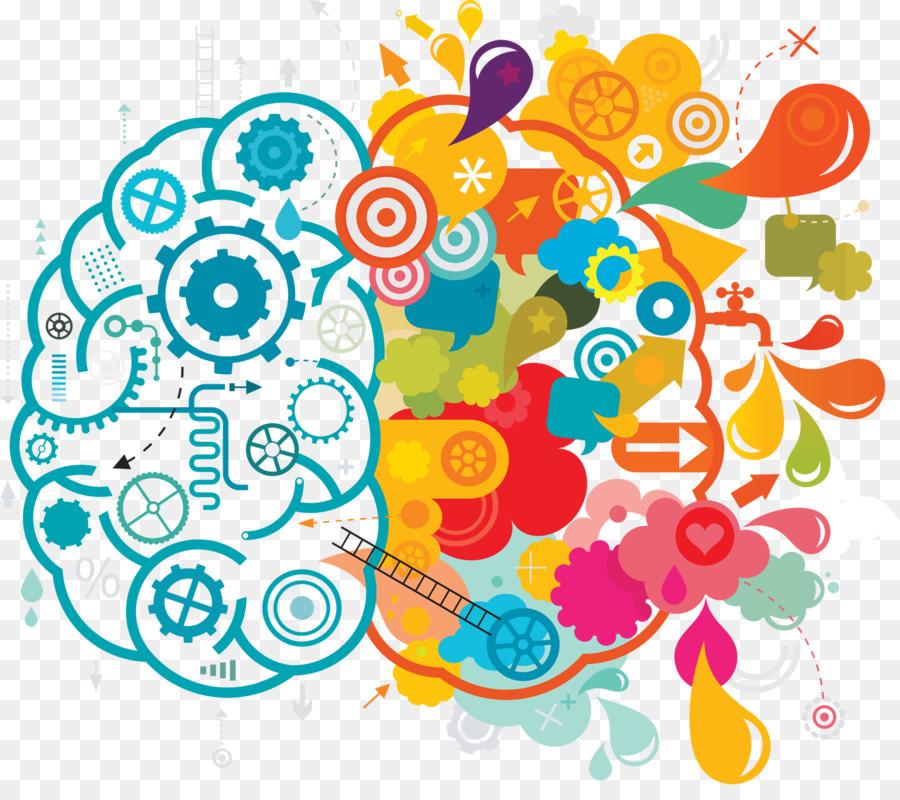 Descarga gratuita de Su Cerebro Creativo, La Creatividad, Cerebro Imágen de Png