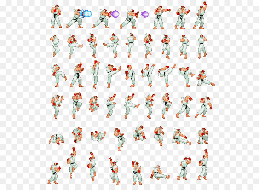 Descarga gratuita de Ryu, Sprite, Super Nintendo Entertainment System Imágen de Png
