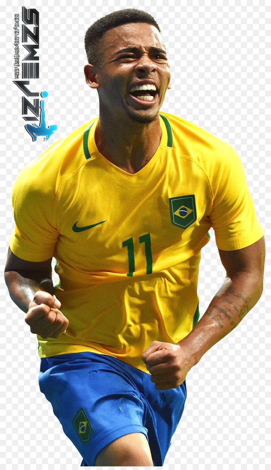 Descarga gratuita de Gabriel Jesús, El Equipo Nacional De Fútbol De Brasil, El Manchester City Fc Imágen de Png