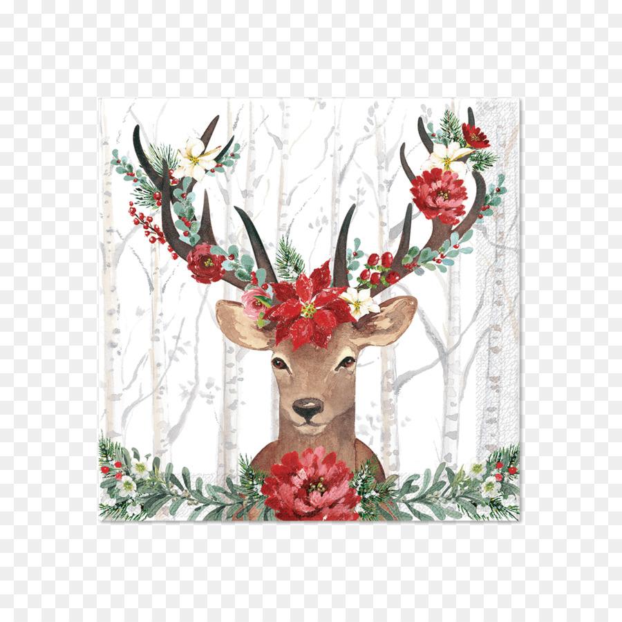 Descarga gratuita de Reno, Los Ciervos, Santa Claus Imágen de Png