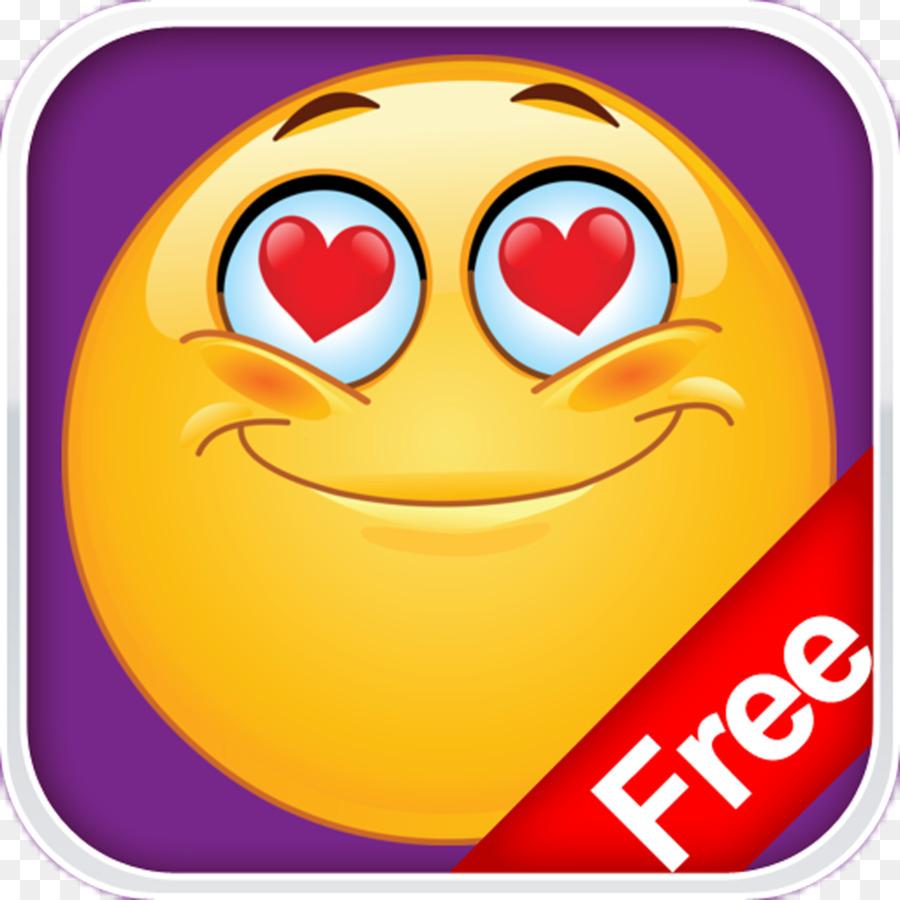 Descarga gratuita de Emoticon, Smiley, Corazón imágenes PNG