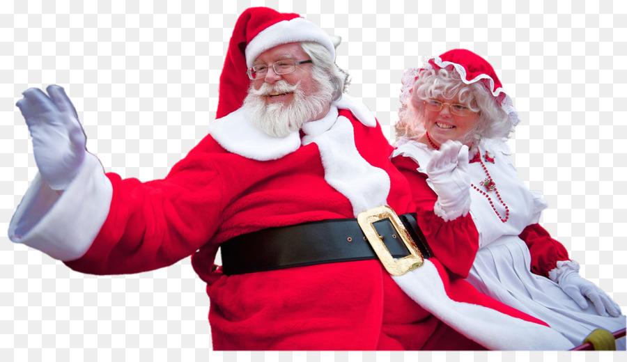 Descarga gratuita de Santa Claus, La Señora Claus, Santa Claus Parade imágenes PNG