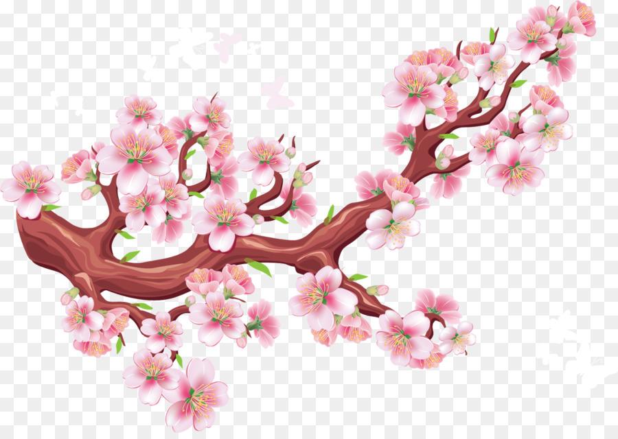 Descarga gratuita de Flor, De Los Cerezos En Flor, Pájaro imágenes PNG
