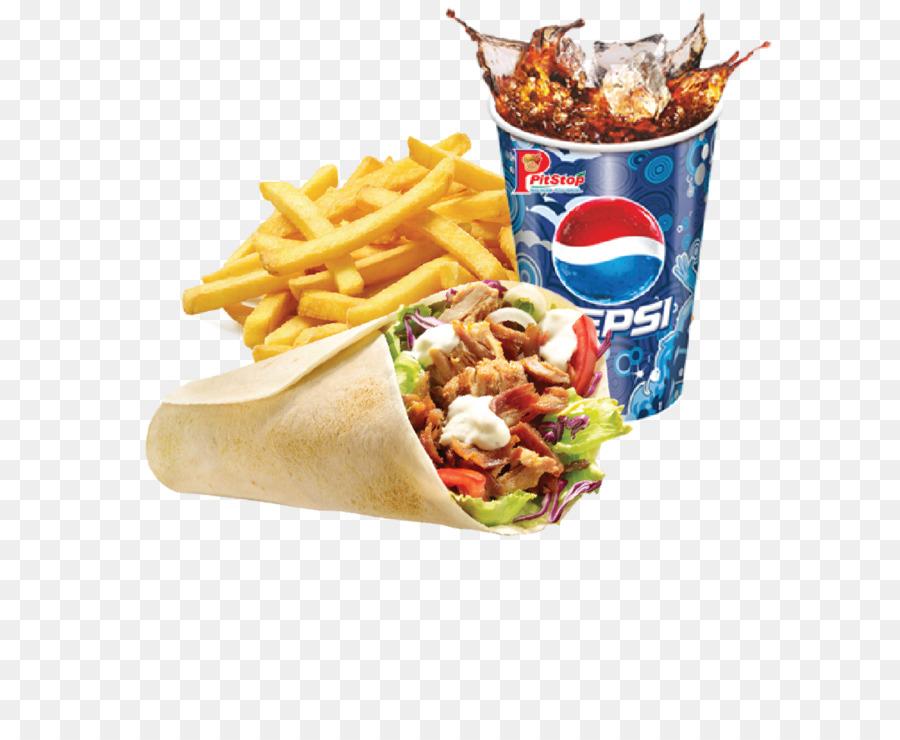 Descarga gratuita de Papas A La Francesa, Shawarma, Comida Rápida imágenes PNG
