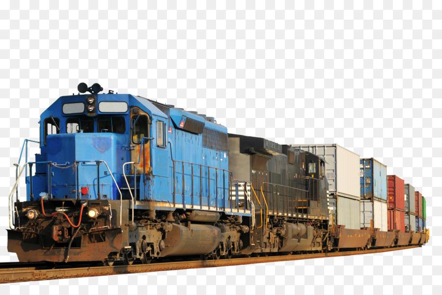 Descarga gratuita de El Transporte Ferroviario, Tren, Transporte Intermodal De Mercancías Imágen de Png