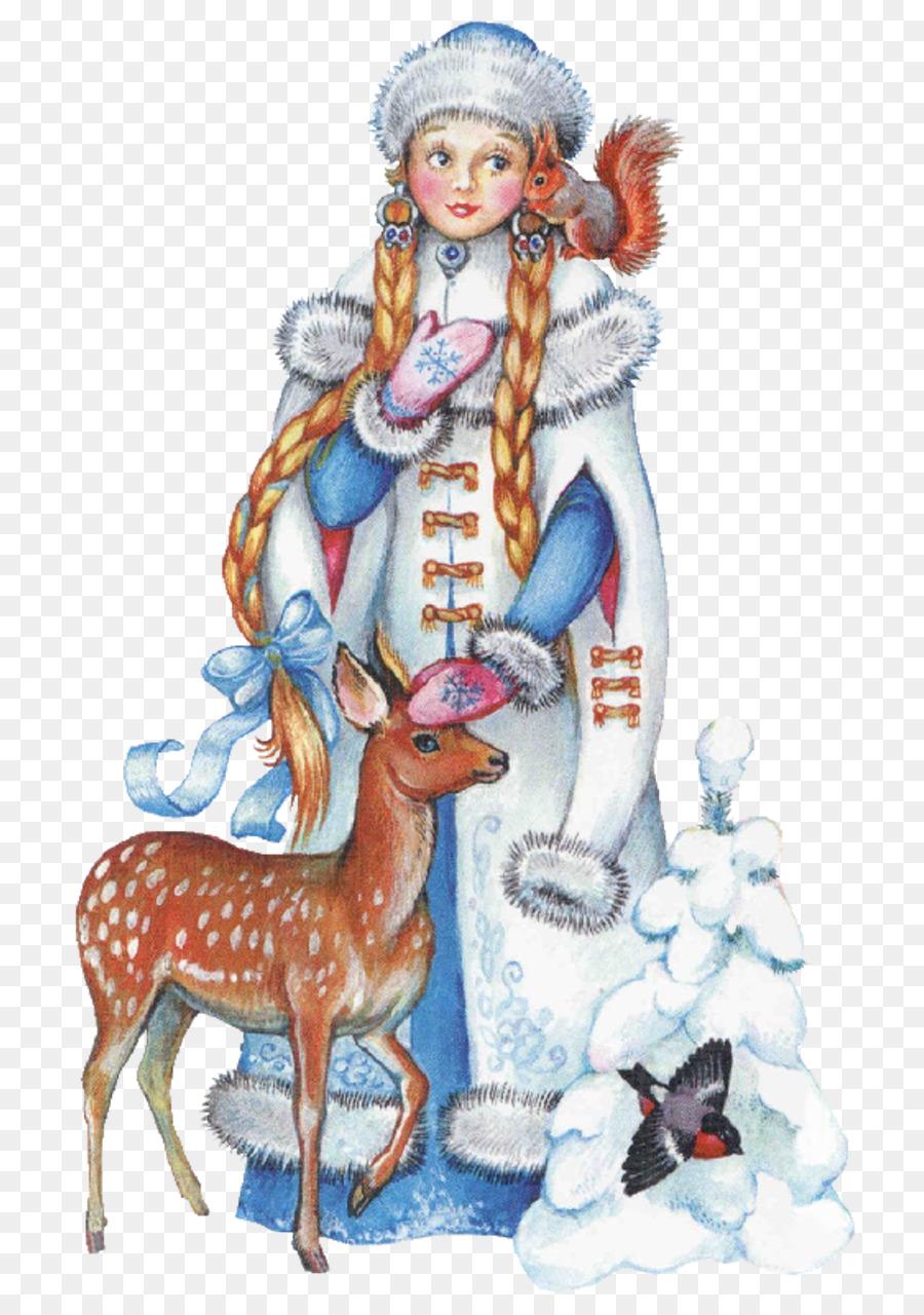 Descarga gratuita de Snegurochka, Ded Moroz, Santa Claus Imágen de Png