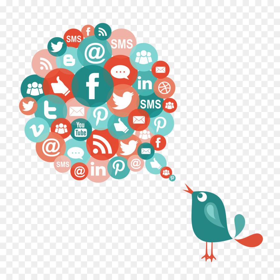 Descarga gratuita de Medios De Comunicación Social, El Marketing Digital, Social Media Marketing Imágen de Png