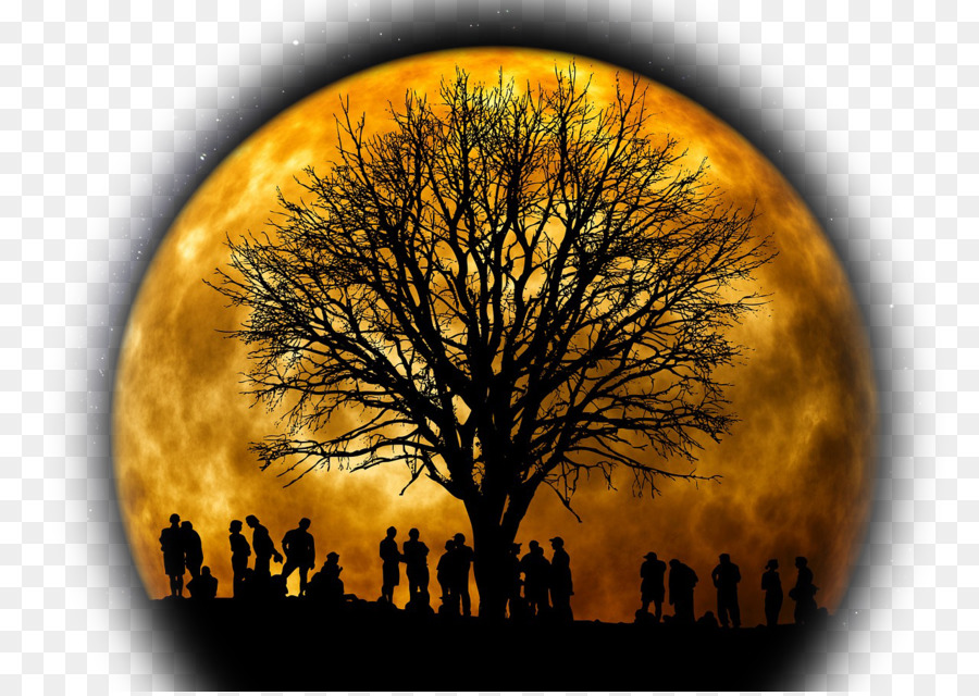 Descarga gratuita de Eclipse Lunar, Luna, Luna Azul Imágen de Png