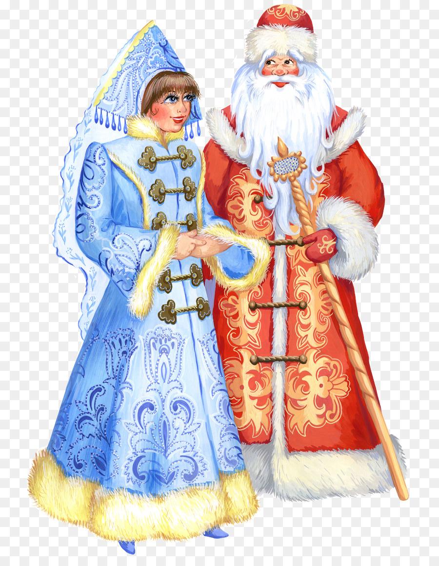 Descarga gratuita de Santa Claus, Snegurochka, Ded Moroz Imágen de Png